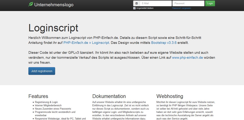 Loginscript